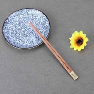 【現貨】餐具 筷子 家庭禮盒裝8雙筷子紅豆杉木筷子