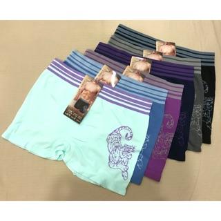 進口品牌 凡思媚特 男性 潮流圖騰 平口男內褲「全新品」L號,一件120元,6色可選
