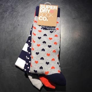 正品✨極度乾燥superdry襪子
