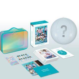 最後 拆售wanna one 2018 summer package 夏日寫真DVD