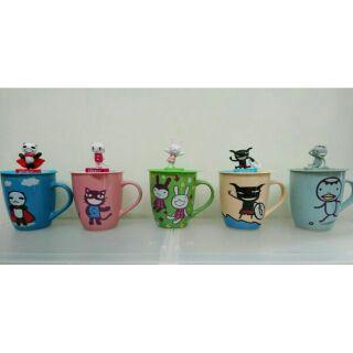 阿朗基馬克杯   ( 5款組,含杯蓋 )