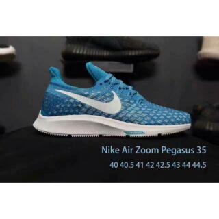 耐吉女鞋 Nike Zoom Pegasus 35 登月針織系列 登月35代 連口設計 龍鱗紋飛線 舒適透氣跑鞋