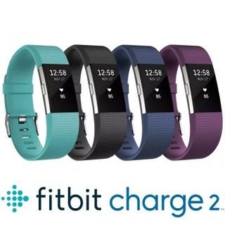 Fitbit Charge 2 無線心率監測專業運動手環/運動錶/心率錶/健身手環 (湖綠 / 黑 / 藍 / 紫色)