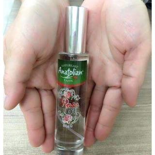 土耳其第一大品牌 Anatolian 大馬士革冷壓粹取的100% 純玫瑰精油