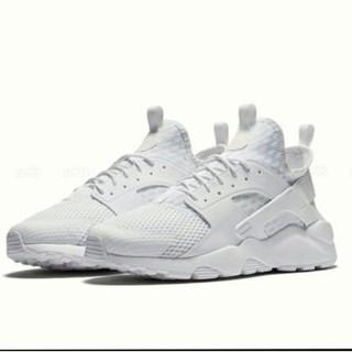 感恩鞋) Nike Air Huarache Ultra BR 833147-100 全白 武士