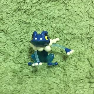 神奇寶貝 雜誌附錄 透明水蛙 忍者蛙 呱頭蛙