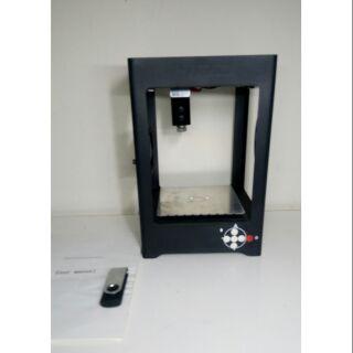 整機/全金屬框架1000mw 小型 雷射雕刻機 [DIY]紫藍光 9成新