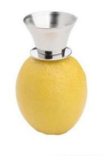 304不銹鋼檸檬鑽小型水果擠汁器檸檬手動取汁器/榨汁器 不銹鋼擠檸檬汁器 手動檸檬鑽壓汁器