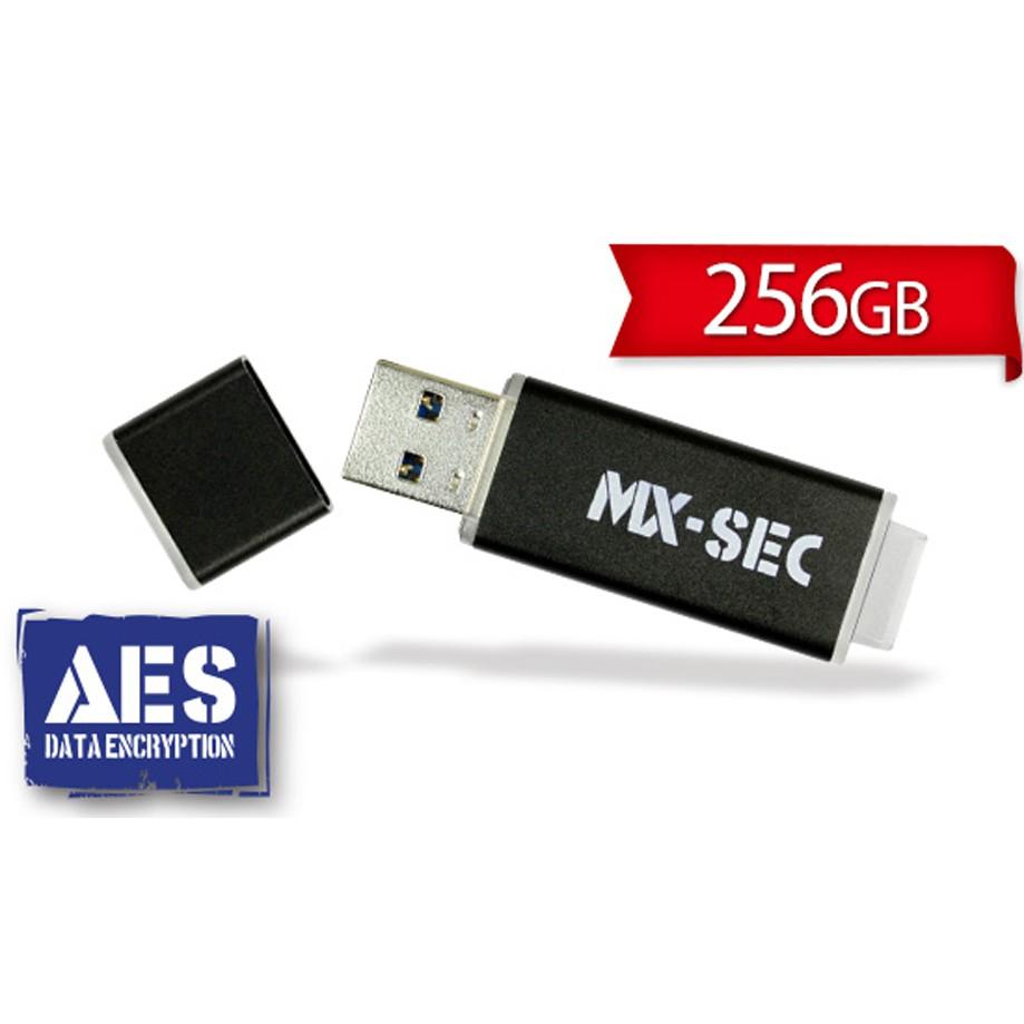 [極速馬赫] USB3.0 AES 256 加密隨身碟 MX-SEC 系列 256GB