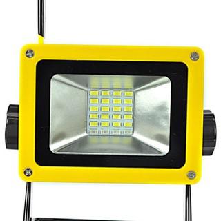 30W 24 LED便攜式充電式泛光燈點陣工作露營釣魚USB燈