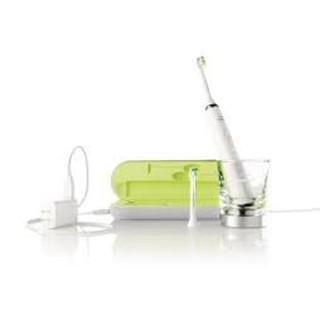 飛利浦鑽石靚白音波電動牙刷 Philips DiamondClean 白 含玻璃充電器 HX-9362