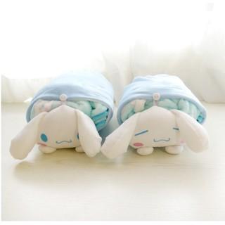大耳狗午睡枕多功能空調毛毯