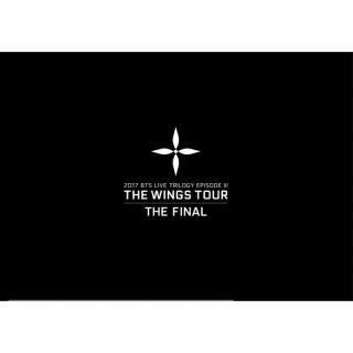 BTS WINGS TOUR THE FINAL最終場 周邊