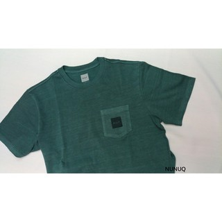 HUF Woven Label Pocket Tee 口袋T 水洗綠 Washed Green 綠色