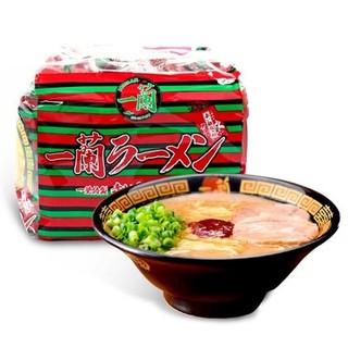 [現貨+預購] 日本 一蘭拉麵 福岡限定 一蘭泡麵 正統日式天然豚骨風味拉麵 包麵 袋麵 一袋5包