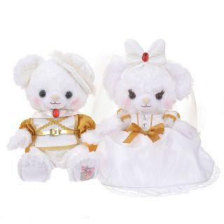 大學熊白雪公主*王子婚紗款