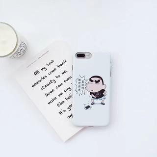 iPhone保護殼 超薄防摔軟殼 小新卡通外殼 蘋果6s 6Plus 6sPlus 7Plus手機殼