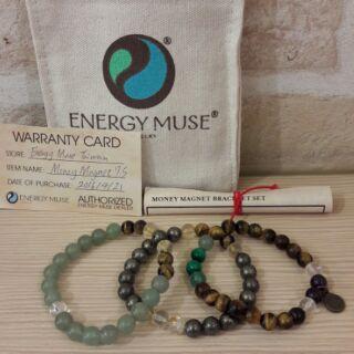 近全新 現貨 Energy Muse 能量手環 - 財富磁鐵手環
