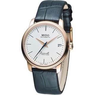 MIDO Baroncelli III 永恆系超薄時尚機械腕錶 M0272073626000