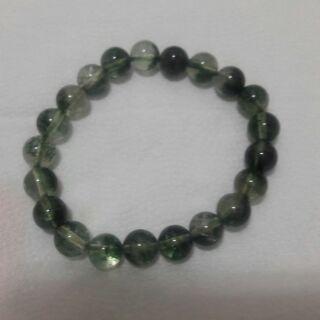 綠幽靈水晶手鍊