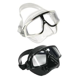 Aqua Lung Sphera LX 自由潛水用低容積面鏡 黑/透明白