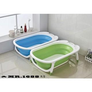 寶寶折疊浴盆 兒童洗澡盆 嬰幼兒浴盆