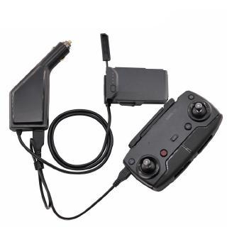 大疆 禦MAVIC AIR車載充電器專用電池車充汽車戶外充電 USB配件