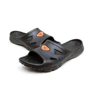 【登瑞體育】MIZUNO  運動拖鞋 黑/一體成形/發泡底_12KT75209