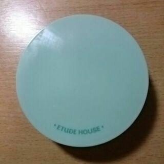 etude house 新荳趣膚之輕舒緩氣墊粉餅盒