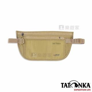 [款式:TTK2947-Brown] TATONKA 防RFID 藏錢貼身腰包(褐色)