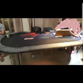 德州撲克桌12人桌,加七張椅子