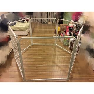圍欄 護欄 門欄 多功能圍欄 寵物 圍欄 幼兒 護欄 遊戲圍欄 6片裝