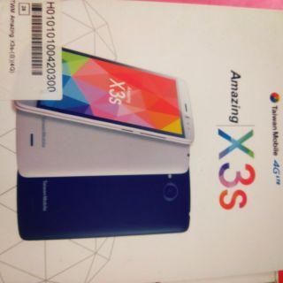 台灣大哥大x3s手機