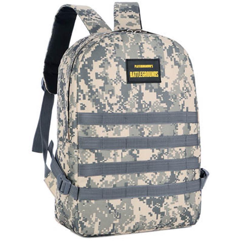 游戲吃雞爆款三級背包迷彩雙肩大容量書包戶外旅行包男士個