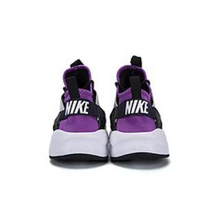 日本代購耐吉華萊士四代Nike Air Huarache Ultra Run 黑紫公司優選