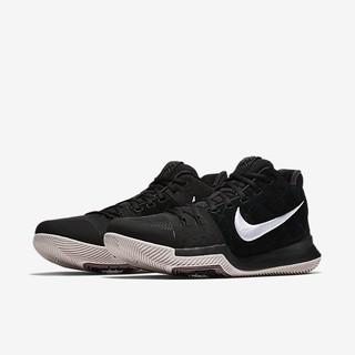 NIKE KYRIE 3 IRVING 黑色 白勾 XDR 籃球鞋 852396-010 籃球鞋