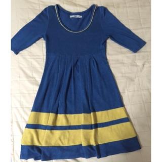 日本品牌kuosh絕美撞色裙