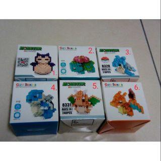 LNO HSANHE 積木 樂高 gift series monster mini series