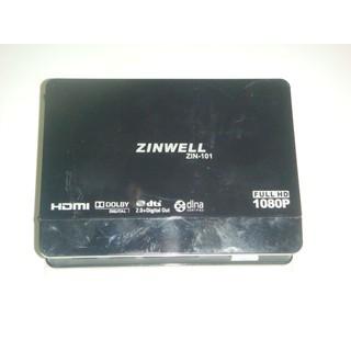 ZINWELL 兆赫~網路電視盒~型號ZIN-101~
