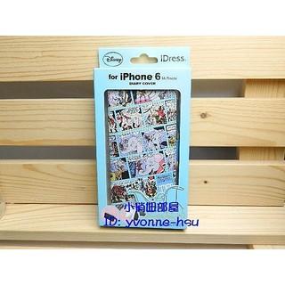 出清特價 Disney迪士尼小飛象Dumbo漫畫格圖案i Phone 6/6S 4.7吋皮套手機套