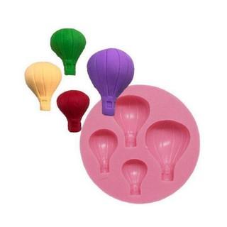 翻糖模 熱氣球 矽膠模 [深夜皂材行]