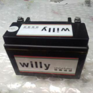 7號機車電池 A123鋰鐵電池