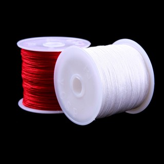 編織線 1卷45M 尼龍線螺紋中國結花邊手鏈編織線0.8MM