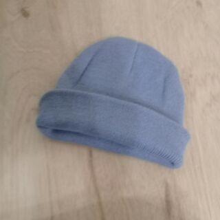 素面短版毛帽