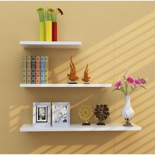 請選著宅配運送 牆上置物架牆壁客廳一字隔板擱板壁掛牆面層板書架現代簡約裝飾架
