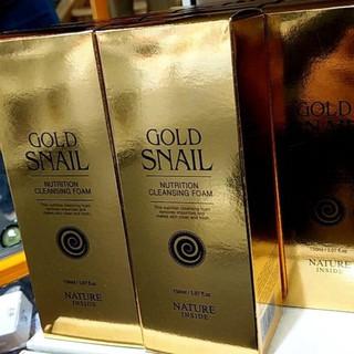 韓國連線商品-Gold Snail 蝸牛洗面乳150ml