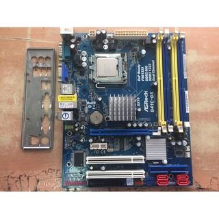 【米寶網】華擎 ASROCK G41C-GS 775腳位 DDR2*2 DDR3*2