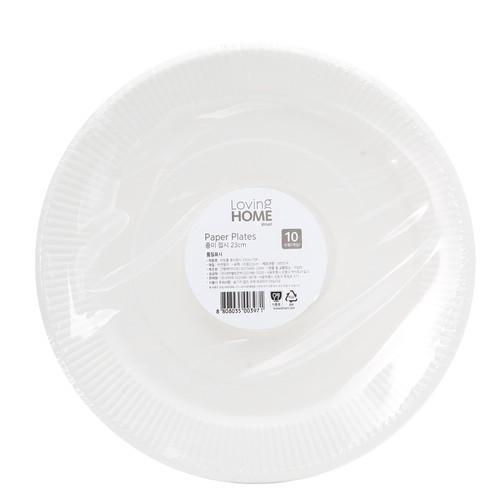 韓國直送LOVING HOME 免洗餐盤23cm