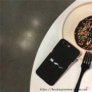手機殼 iPhone 韓國 貓咪愛吃魚