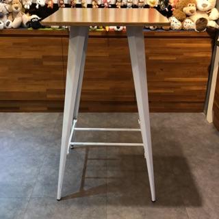 工業風高腳桌